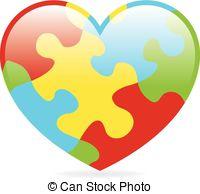Autism logo clip art. Stock illustration images illustrations