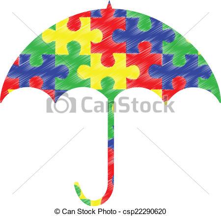 Stock illustration images illustrations. Autism logo clip art