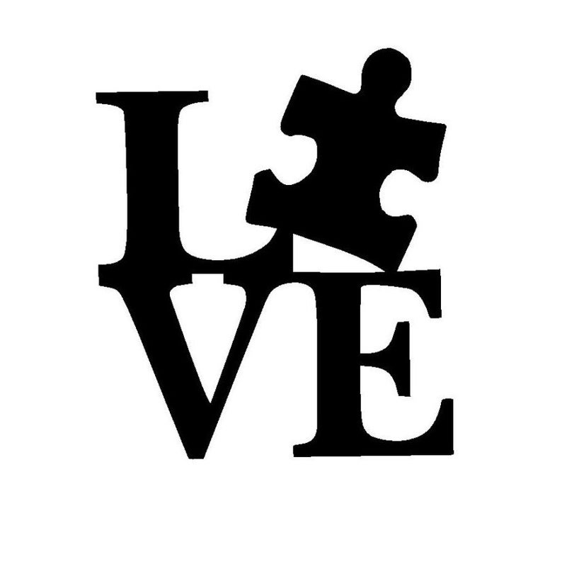 Autism puzzle heart clipart black and white svg free Download for free 10 PNG Autism clipart black and white Images With ... svg free