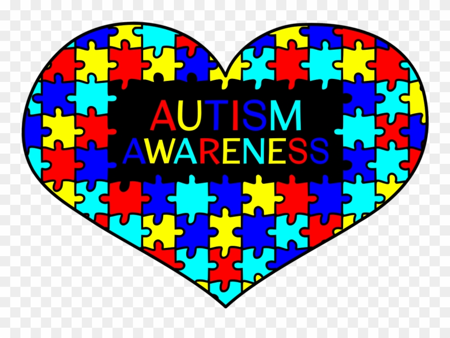 Autism puzzle heart clipart black and white banner freeuse library What Is Autism And Down Syndrome - Autism Awareness Heart Clipart ... banner freeuse library