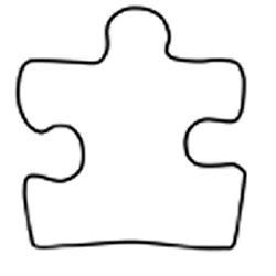 Autism puzzle piece clip art picture free Autism Puzzle Piece Template - ClipArt Best picture free