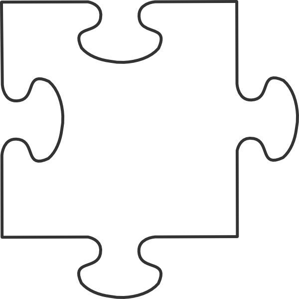 Autism puzzle piece clip art jpg library 17 Best ideas about Puzzle Piece Template on Pinterest | Class ... jpg library