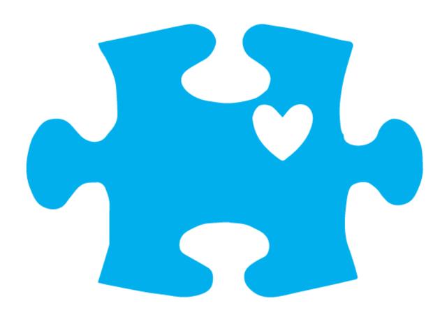 Autism puzzle piece clipart clip art library stock Pin by VecTec Vinyl Inc on Stickers | Autism awareness, Autism ... clip art library stock