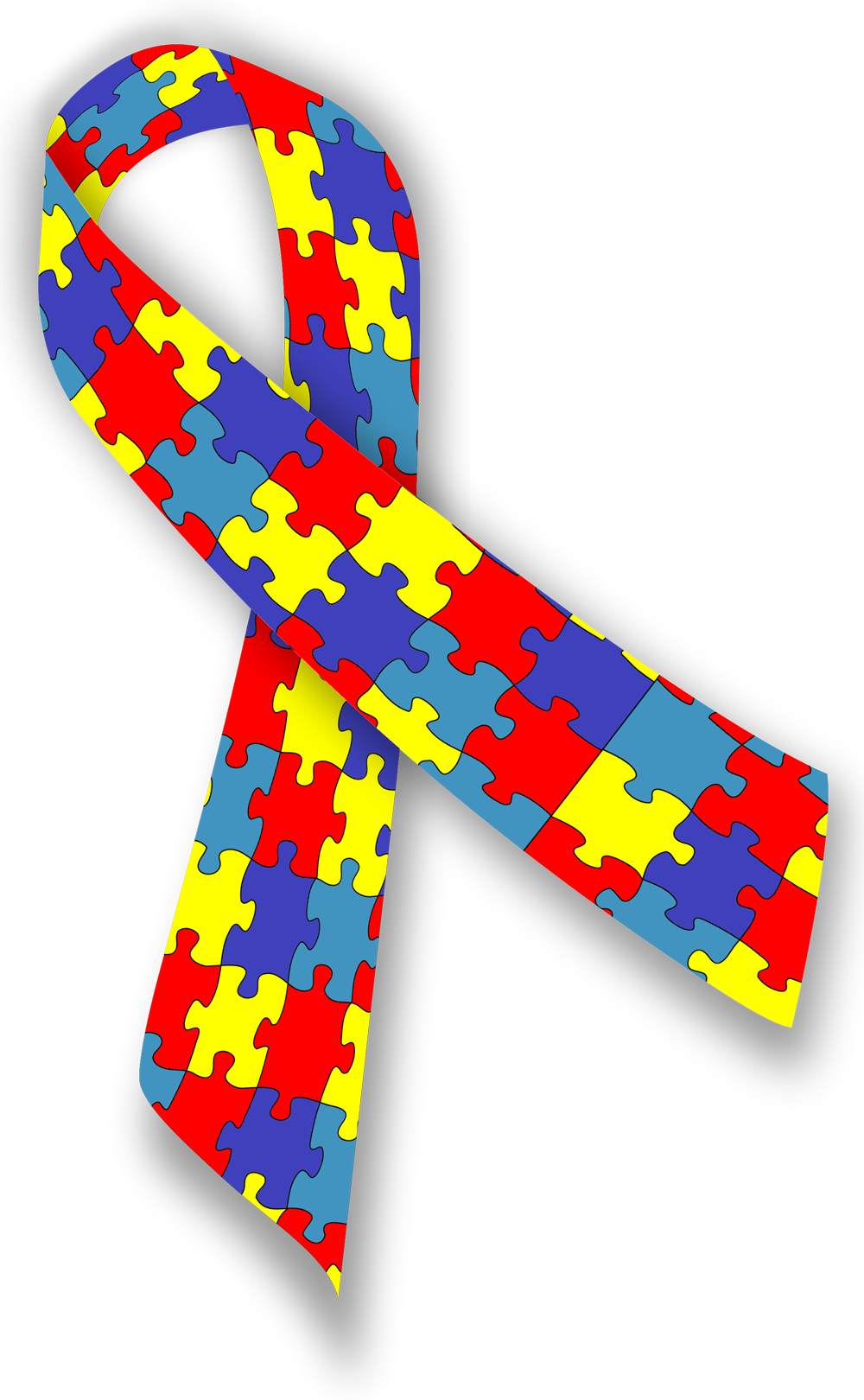Autism ribbon clip art jpg free stock Autism support ribbons clipart - ClipartFest jpg free stock