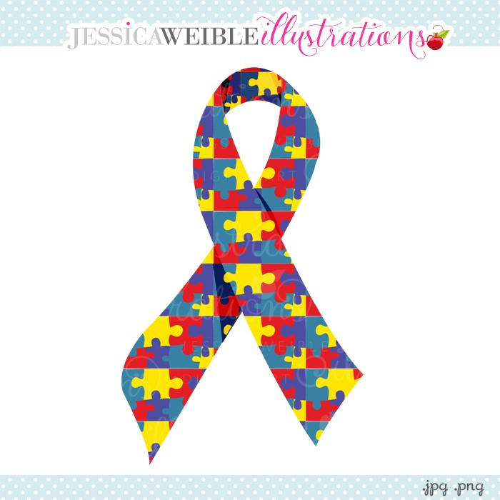 Autism ribbon clip art svg free library Autism Ribbon | Free Download Clip Art | Free Clip Art | on ... svg free library