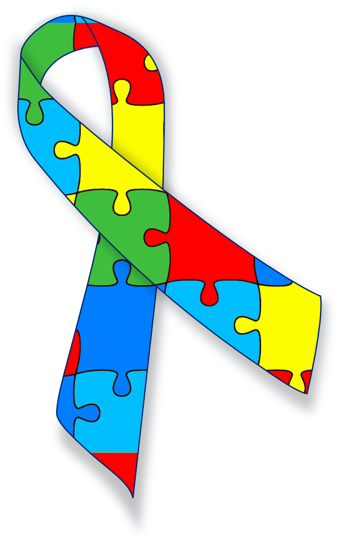 Autism ribbon clip art picture Autism awareness ribbon - /medical/medical_problems/various ... picture