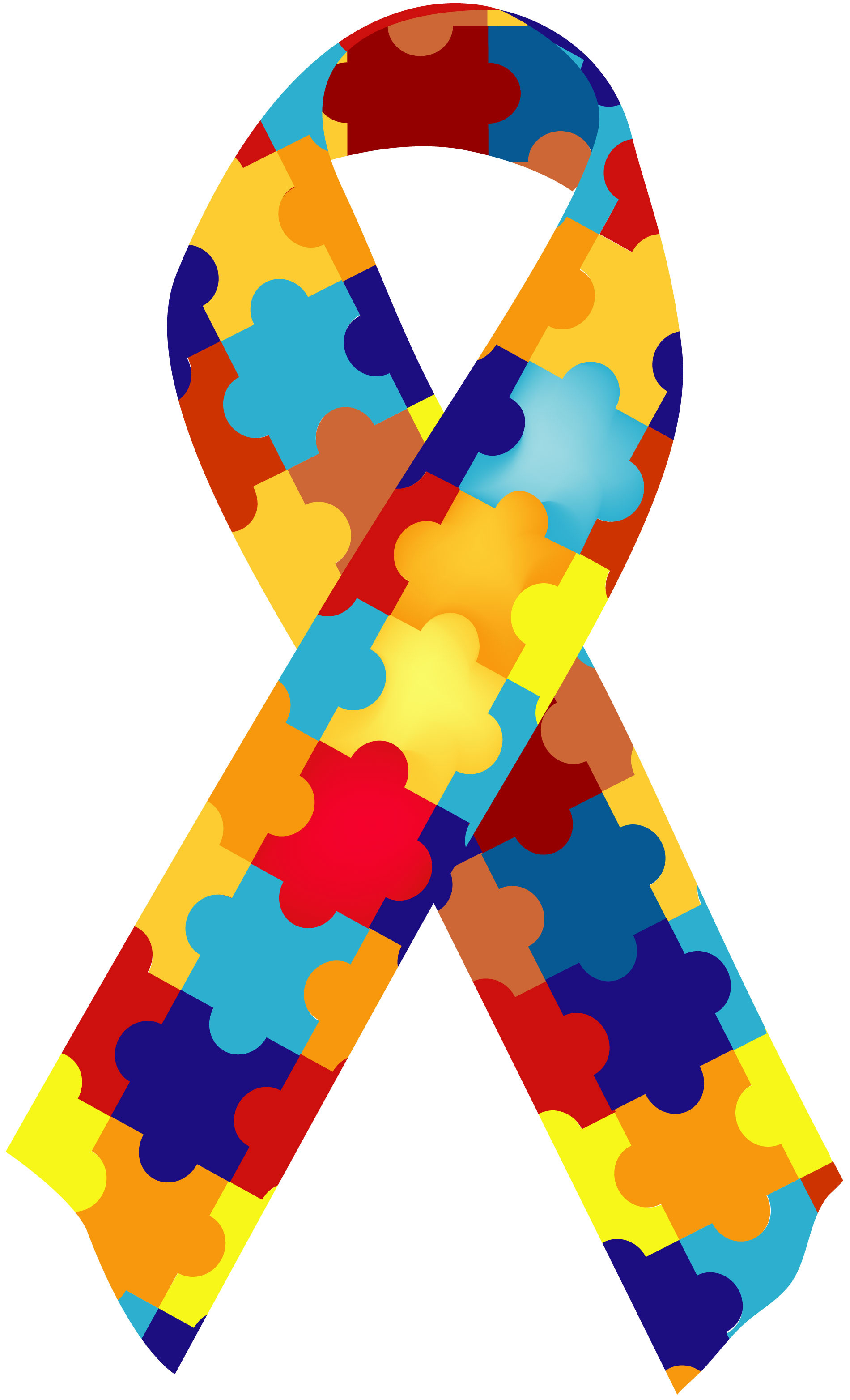 Autism ribbon clip art jpg black and white Autism Ribbon | Free Download Clip Art | Free Clip Art | on ... jpg black and white