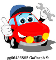 Automotive repair clipart images png black and white Auto Repair Clip Art - Royalty Free - GoGraph png black and white