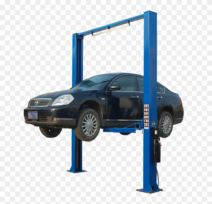 Auto on lift clipart svg transparent stock 4ton Auto Lift Two Post/mechanic Workshop Equipment/car - Executive ... svg transparent stock