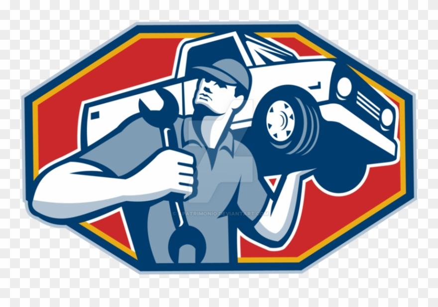 Auto repair logo clipart graphic royalty free download Jpg Automobile Mechanic Clipart - Auto Mechanic - Png Download ... graphic royalty free download