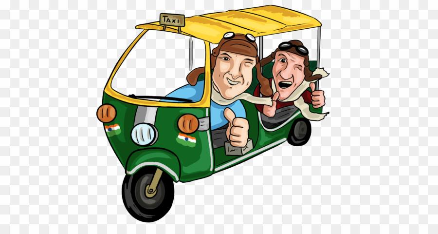 Auto rickshaw cartoon clipart image library library Tuk Tuk Cartoon Thai PNG Auto Rickshaw Clipart download - 768 * 461 ... image library library