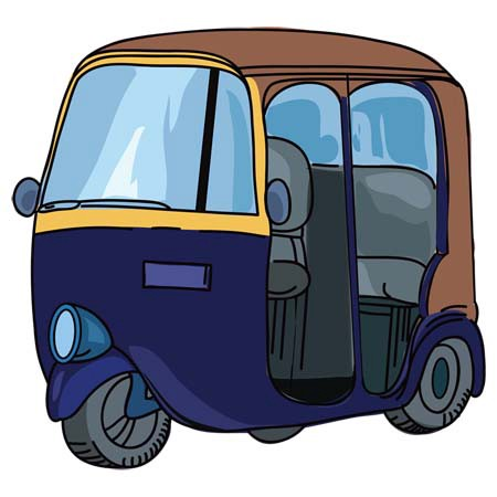 Auto rickshaw cartoon clipart svg free stock Why we don\'t have seat belts in Auto Rickshaws? - Karan Agrawal - Medium svg free stock