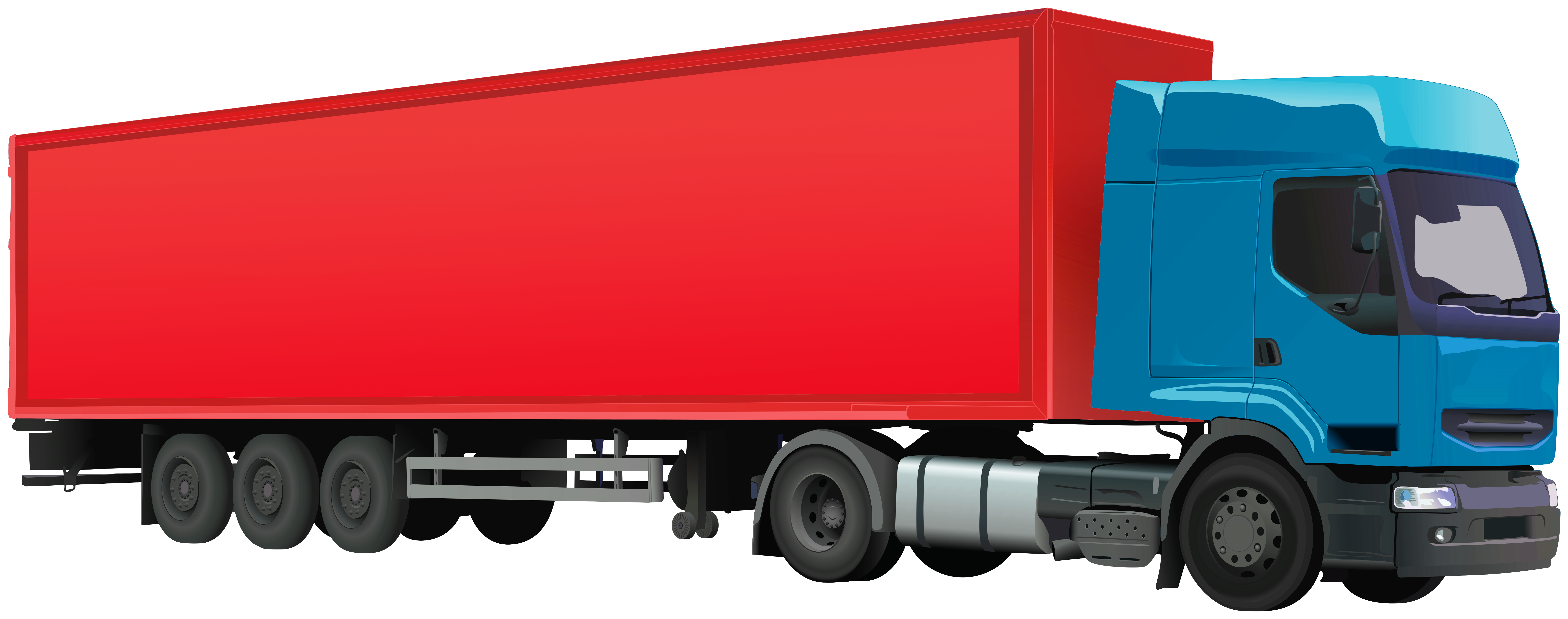 Auto transport truck clipart graphic library Container Truck PNG Clip Art - Best WEB Clipart graphic library