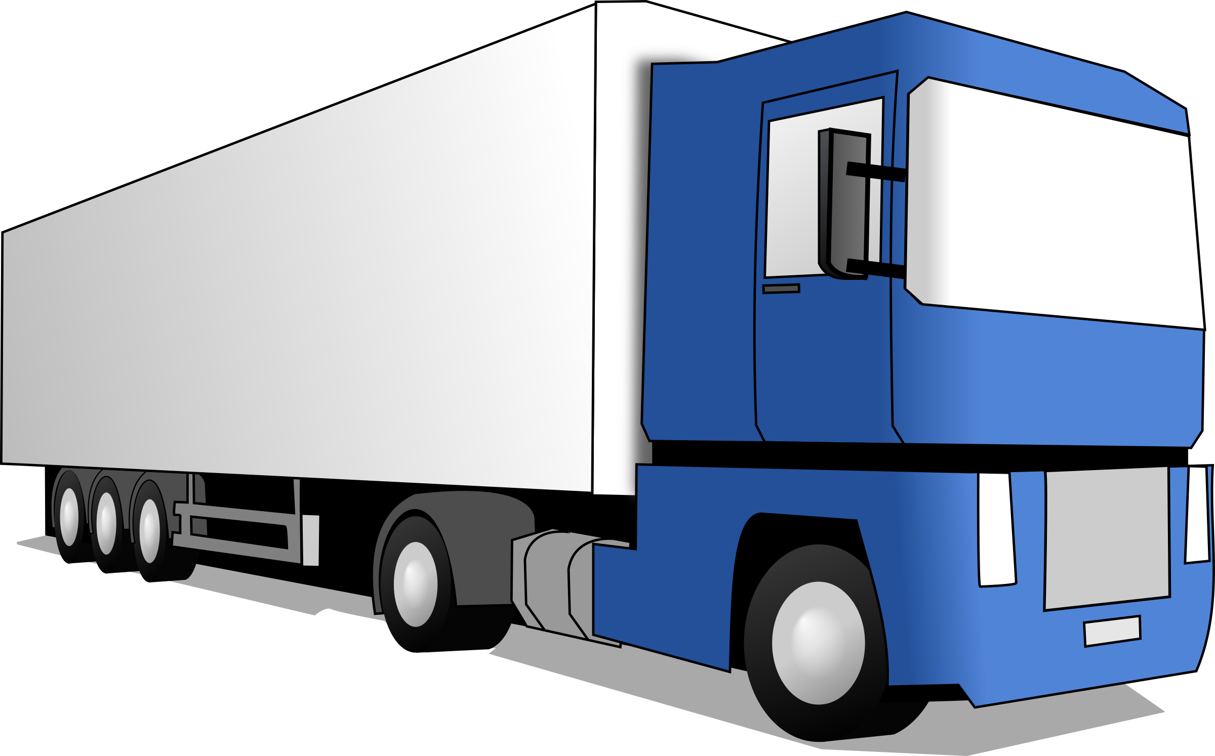 Auto transport truck clipart image black and white download Truck Top View Clipart   Free download best Truck Top View Clipart ... image black and white download