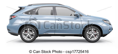 Auto von der seite clipart jpg freeuse library Suv Stock Illustration Images. 2,626 Suv illustrations available ... jpg freeuse library