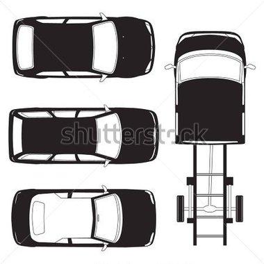 Auto von oben clipart jpg free Gallery For > Van Clipart Top View Car jpg free
