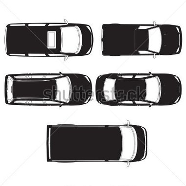 Auto von oben clipart picture royalty free download Gallery For > Van Clipart Top View Car picture royalty free download