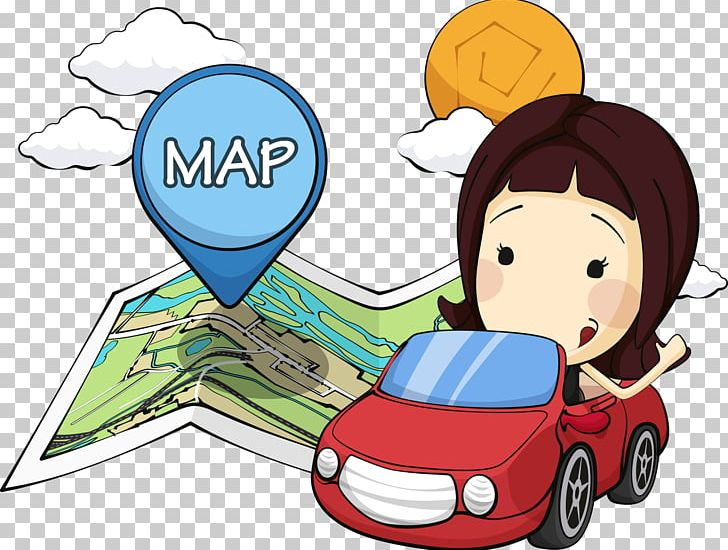 Automotive girl clipart png Open Red Car Girl PNG, Clipart, Car, Cars, Cartoon, Cartoon Girl ... png
