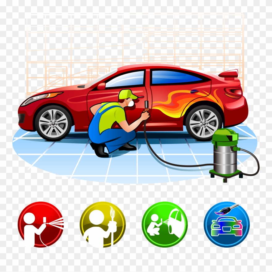 Automotive repair logo clipart vector download Clip Art Transparent Auto Repair Shop Clipart - Paint Car Png ... vector download