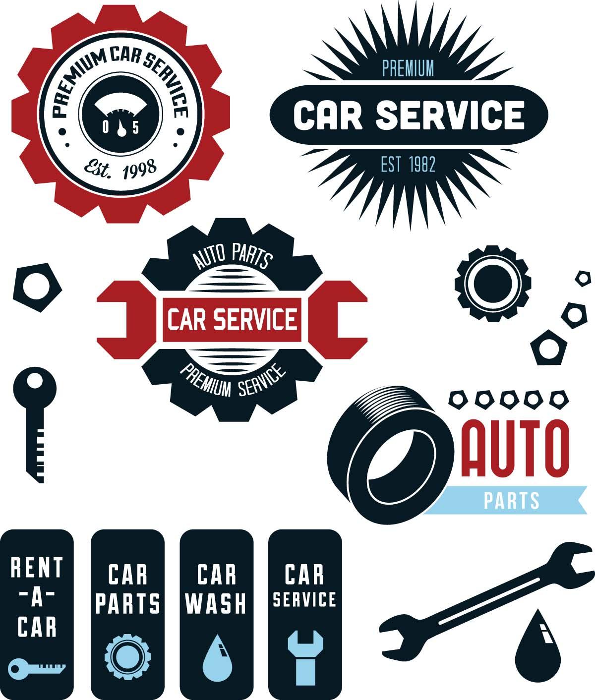 Automotive repair logo clipart clip art library stock 15 Old Auto Repair Shops Icons Images - Auto Mechanic Repair Logo ... clip art library stock