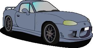 Automovil clipart banner royalty free Auto Mazda Clip Art at Clker.com - vector clip art online, royalty ... banner royalty free