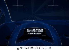 Autonomy 3d clipart images clipart black and white Autonomous Driving Stock Illustrations - Royalty Free - GoGraph clipart black and white
