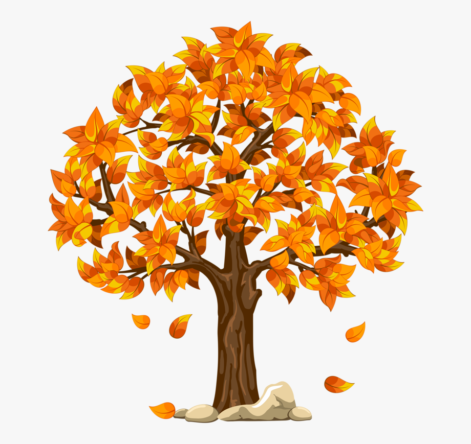 Autum clipart picture freeuse Fall Clipart Autumn Scene - Fall Tree Clipart Transparent Background ... picture freeuse