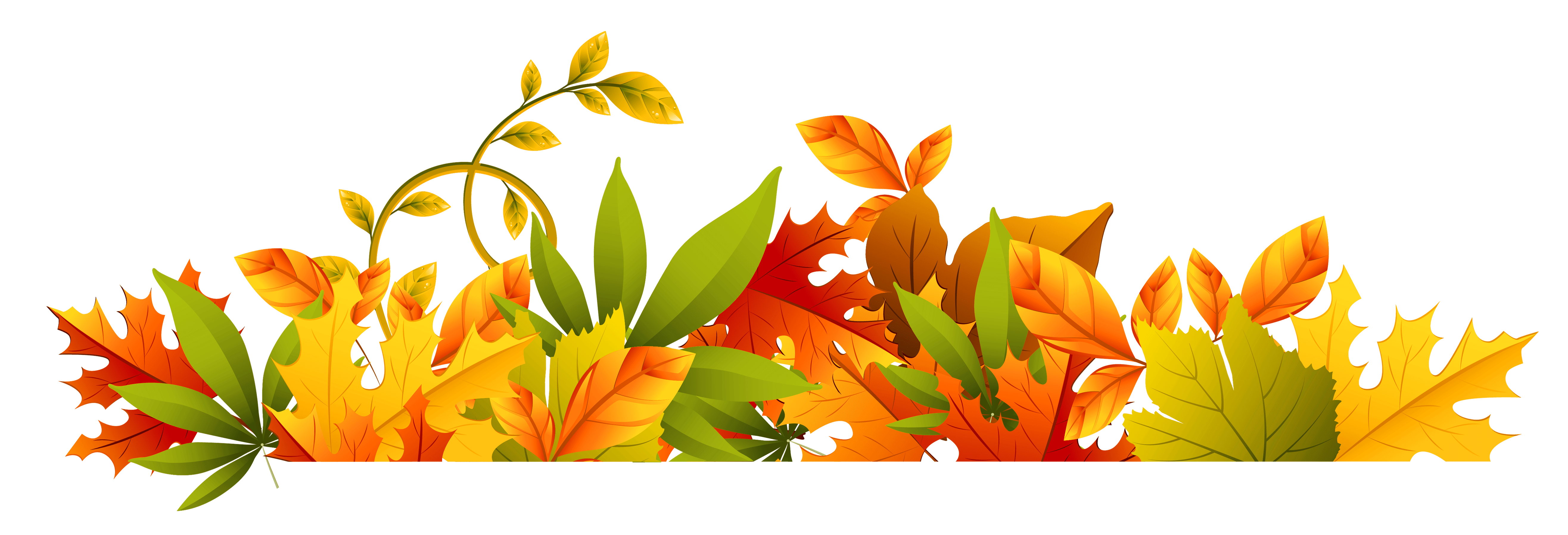 Fall flower clipart vector stock Fall flowers border new transparent autumn border png clipart ... vector stock