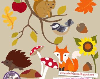 Autumn fox clipart clipart free Free Autumn Animal Cliparts, Download Free Clip Art, Free Clip Art ... clipart free