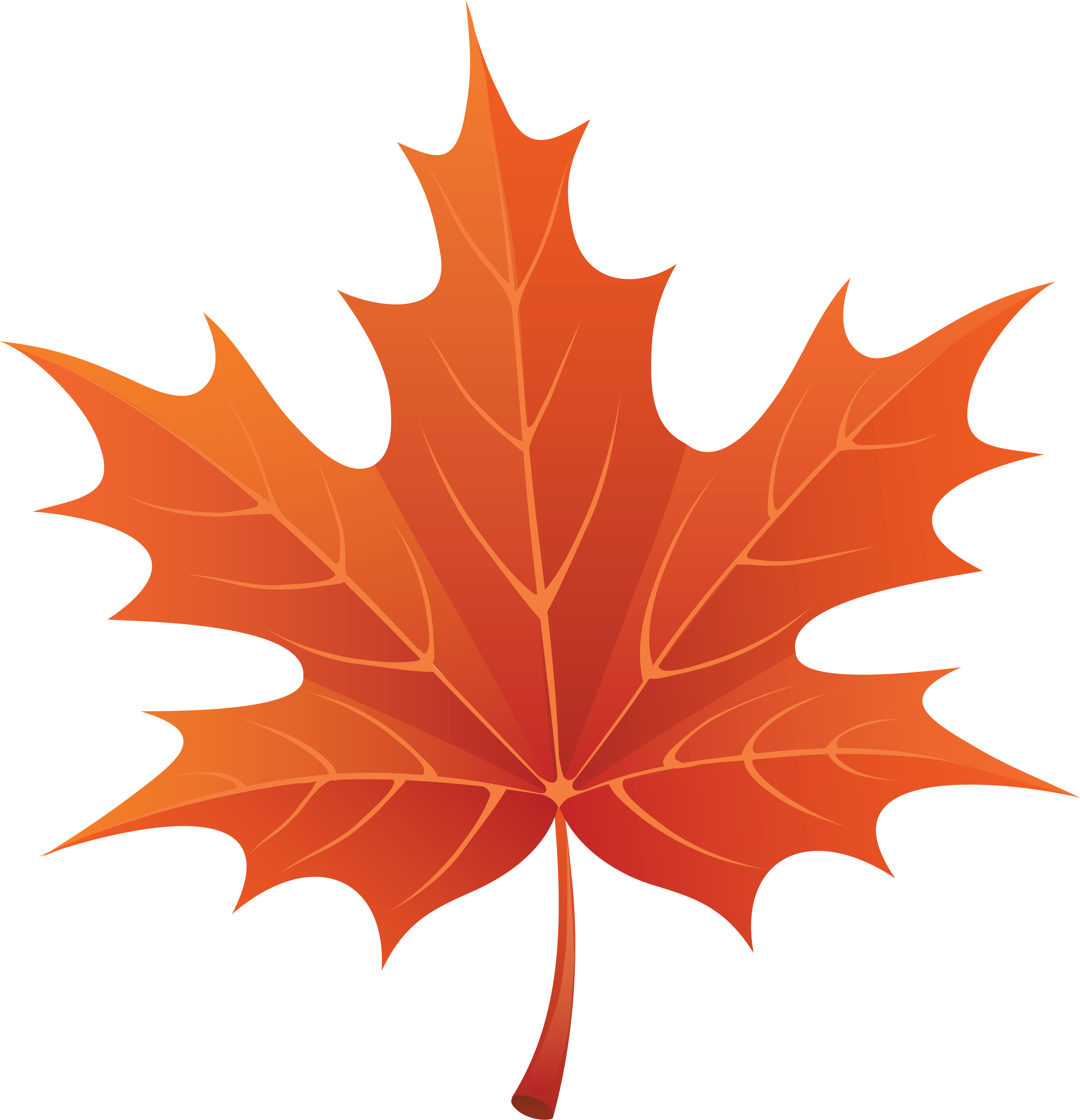 Pumpkin leaf clipart black and white png free download Clipart Autumn Leaves & Look At Autumn Leaves Clip Art Images ... png free download