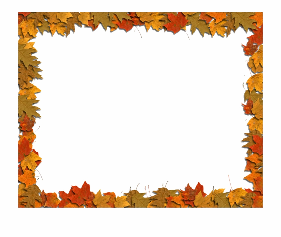 Autumn leaves borders clipart clip free stock Autumn Leaf Color Clip Art - Fall Leaves Border Clipart Transparent ... clip free stock