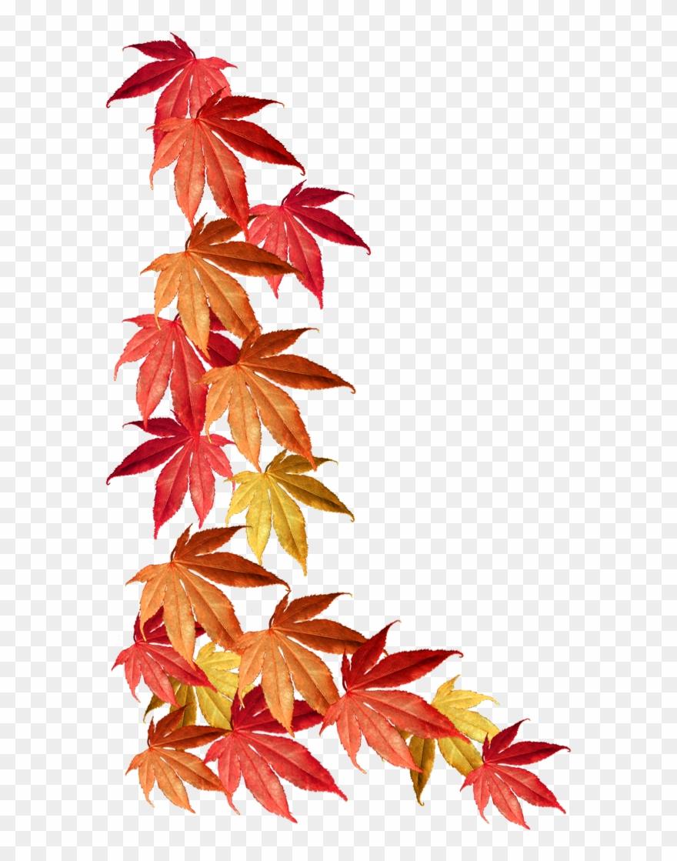 Autumn leaves borders clipart image freeuse stock Fall Border Png - Autumn Leaves Border Clipart (#68141) - PinClipart image freeuse stock
