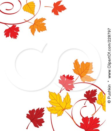 Autumn leaves clipart border clip library library Autumn leaves clipart border 6 » Clipart Portal clip library library