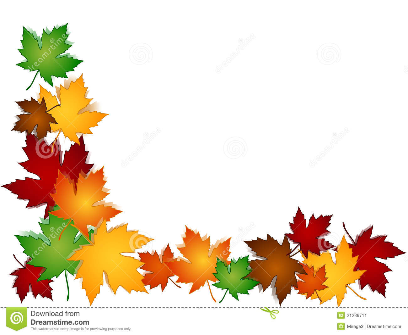 Autumn leaves clipart border royalty free Autumn Leaves Borders | Free download best Autumn Leaves Borders on ... royalty free