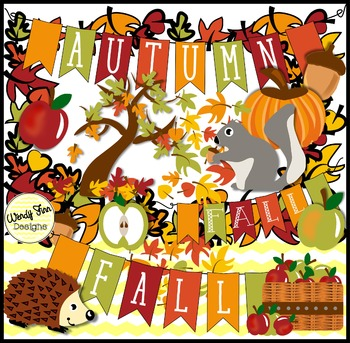 Autumn season clipart graphic freeuse download Autumn Fall Clipart, & Fall Banners, Borders and Backgrounds graphic freeuse download