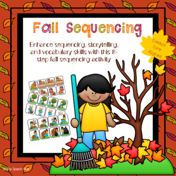 Autumn story sequence clipart clip art transparent download 8-Step Fall Sequencing & Storytelling Activity with Homework Sheets Included clip art transparent download