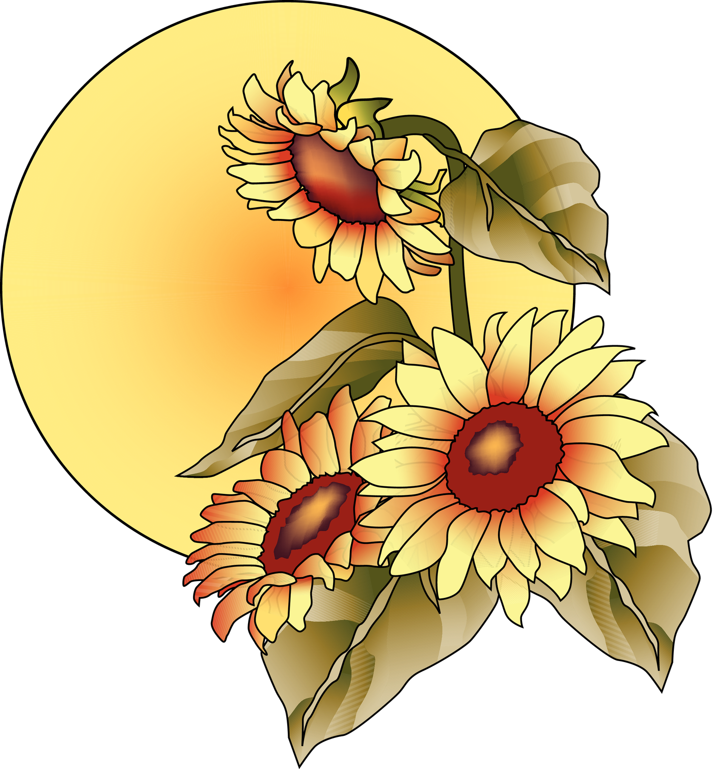 """Autumn sun clipart clip art freeuse library Fall Fill-Up Night"""" Wednesday, September 23, 2015   clip art freeuse library"""