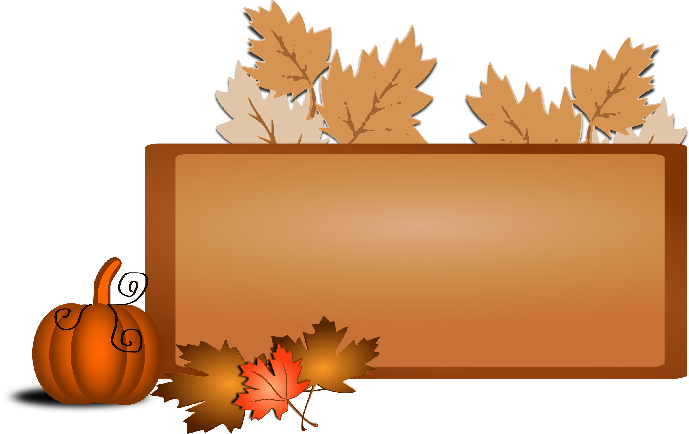 Fall thanksgiving clipart autumn banner stock Clipart - Fall clip art banner stock