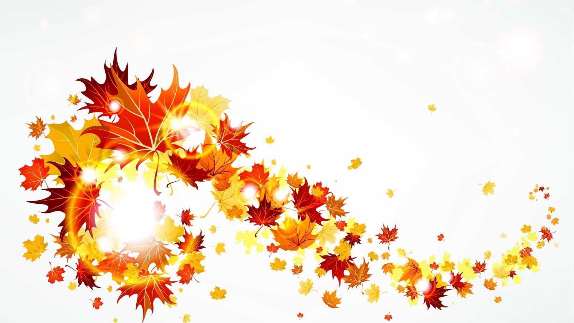 Autumn leaves borders clipart graphic transparent Best HD Fall Leaf Border Clip Art Image » Vector Images Design graphic transparent