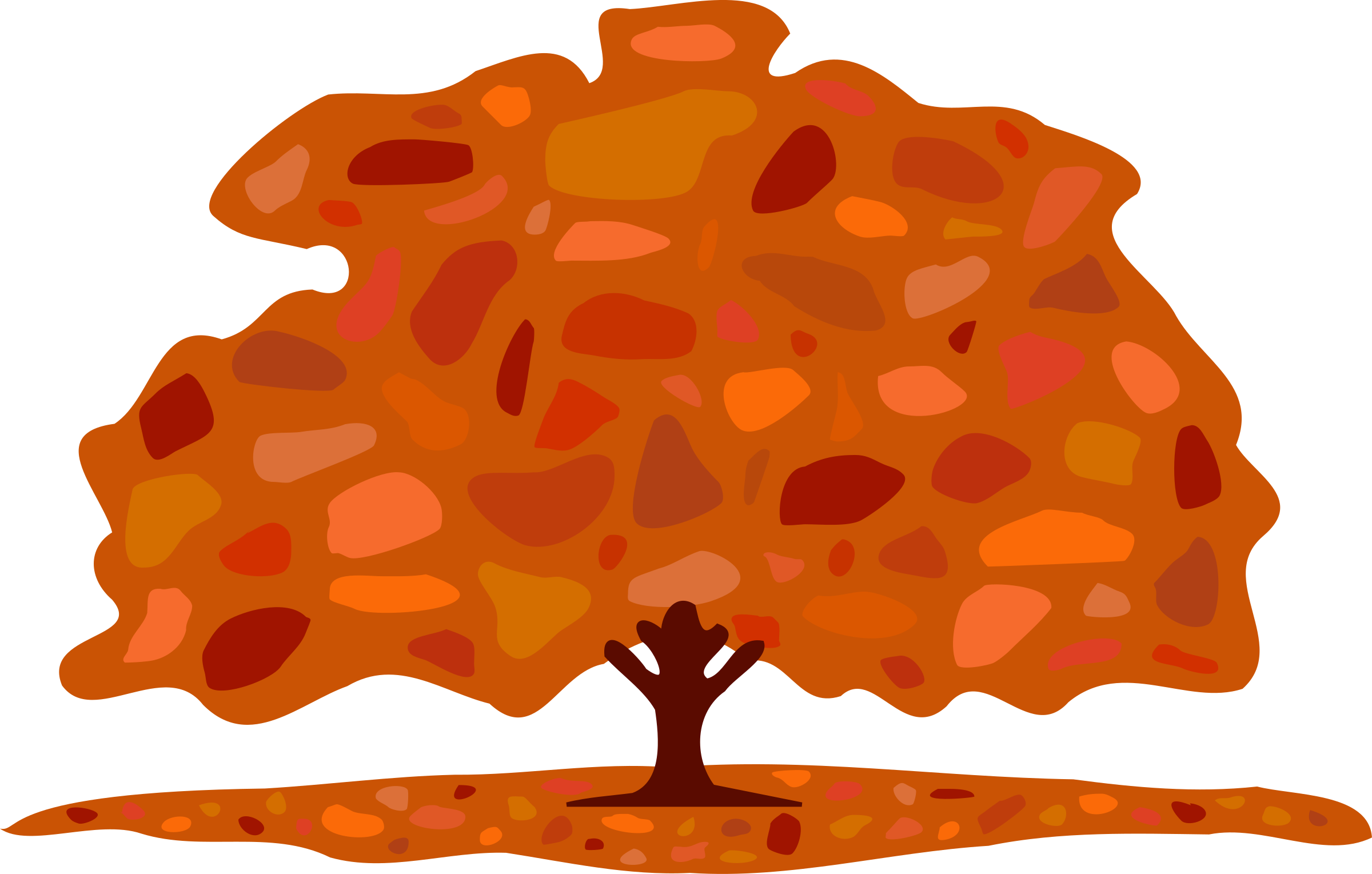 Autumn tree clipart royalty free Clipart - Autumn tree royalty free