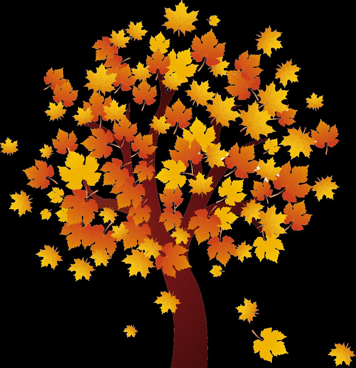 Autumn tree clipart freeuse Clipart autumn tree - ClipartFest freeuse