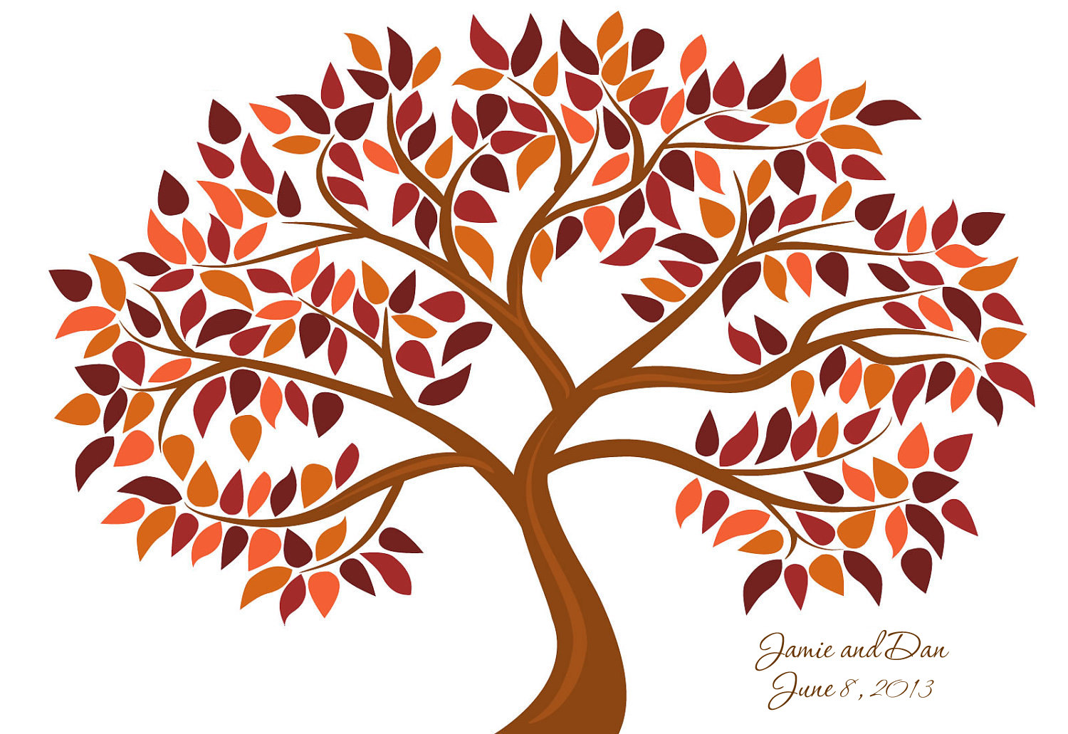 Autumn tree with hearts clipart png download Fall Tree Clipart & Fall Tree Clip Art Images - ClipartALL.com png download