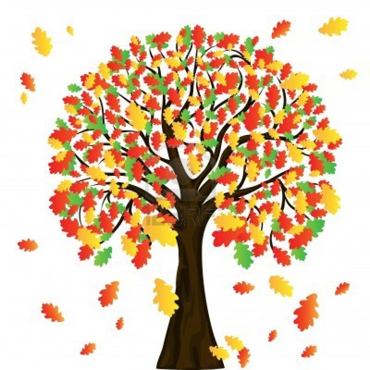 Autumn tree with hearts clipart banner Clipart autumn tree - ClipartFest banner