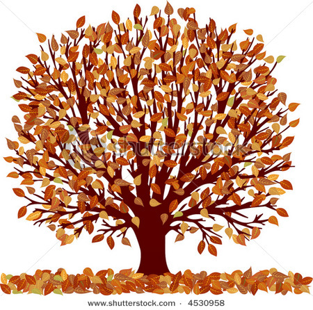 Autumn tree with hearts clipart svg black and white stock Autumn tree with hearts clipart - ClipartFox svg black and white stock