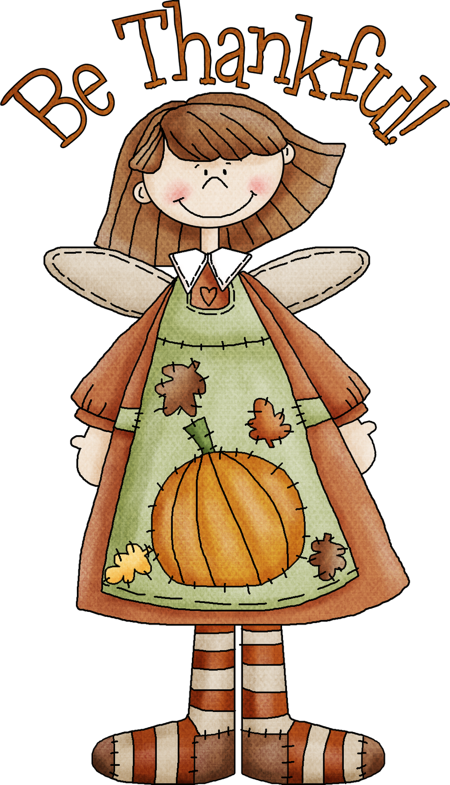 Round thanksgiving clipart clip art transparent library Thanking God for everything! Enjoying my blessings with a thankful ... clip art transparent library