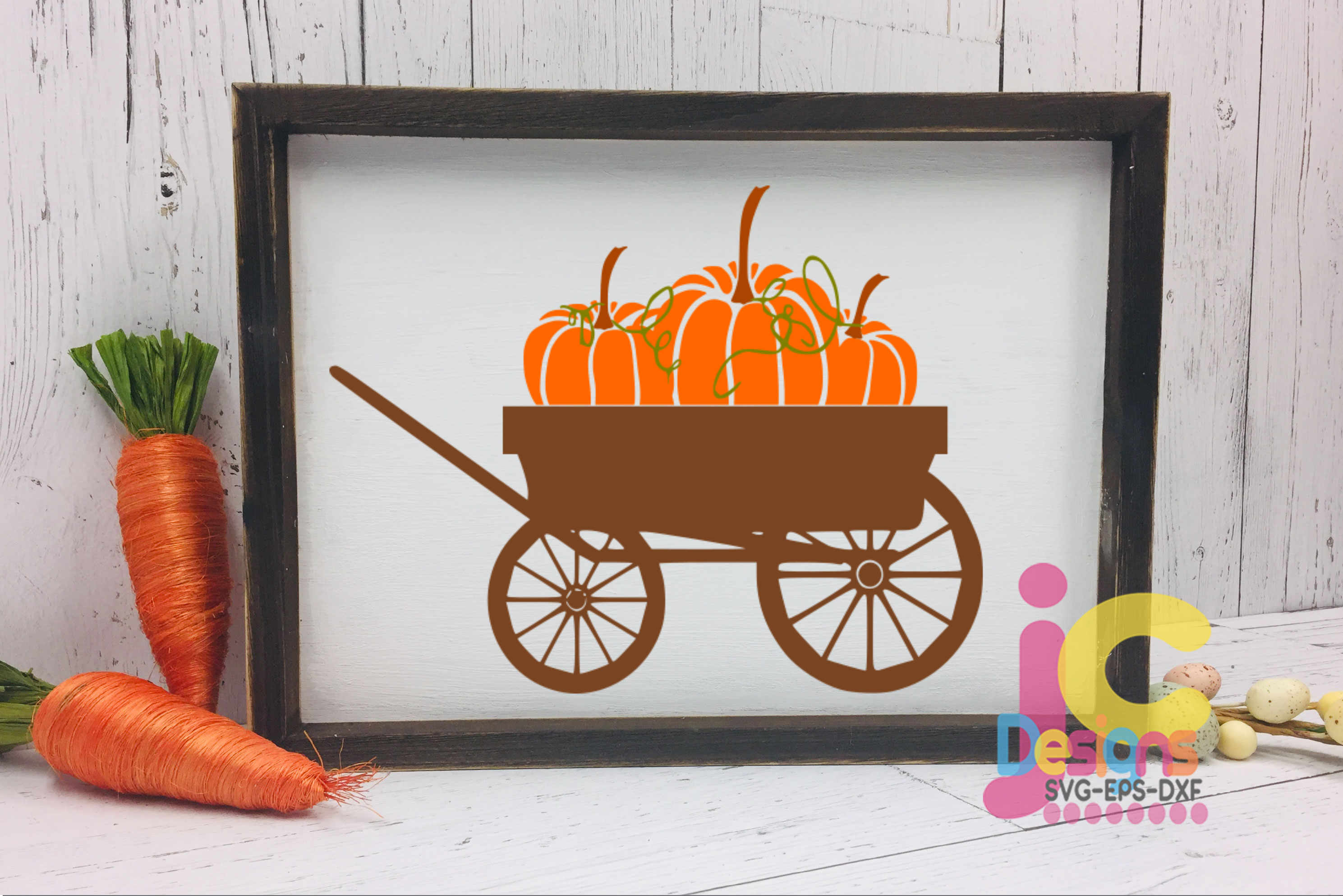Autumn vintage wagon clipart png freeuse library Pumpkin wagon svg Fall Autumn Thanksgiving Cut File clipart png freeuse library