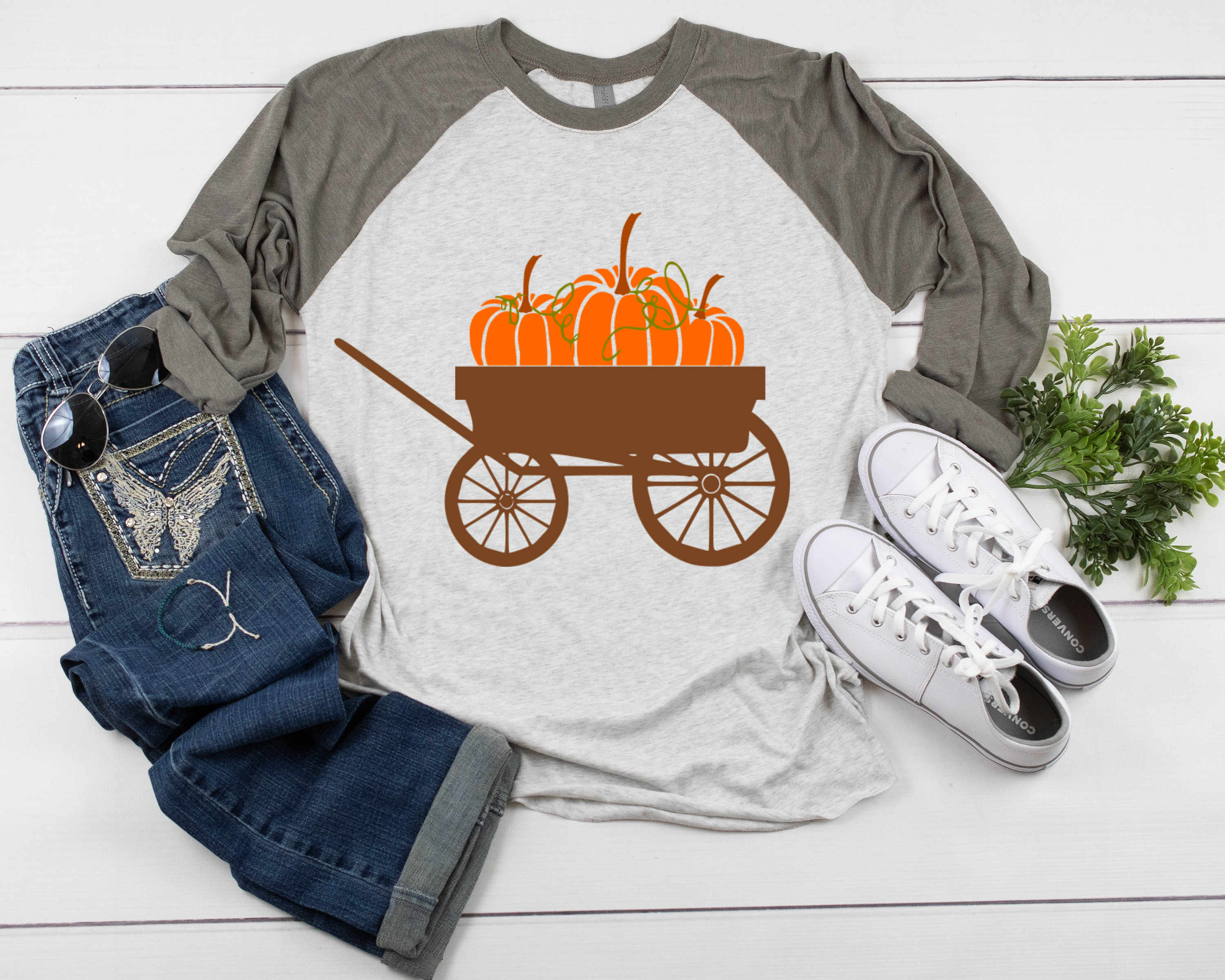 Autumn vintage wagon clipart picture free download Pumpkin wagon svg Fall Autumn Thanksgiving Cut File clipart picture free download