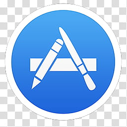 Available app store icon clipart jpg library library Mac OS X Mavericks icons, App Store, round white and blue A logo ... jpg library library