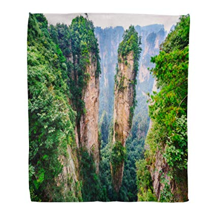 Avatar hallliluia mountains clipart picture stock Amazon.com: Emvency Throw Blanket Warm Cozy Print Flannel Landscape ... picture stock