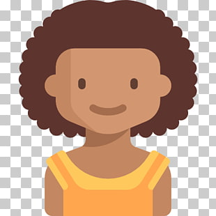 Avatar icon clipart woman wit curly hair clip art library Avatar Youth Child Icon, Curly hair girl PNG clipart   free cliparts ... clip art library